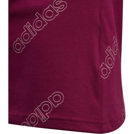 Girls' T-shirt - adidas YG FAV TEE - 5