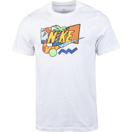 Pánske tričko - Nike NSW SS TEE SUMMER FUTURA - 1