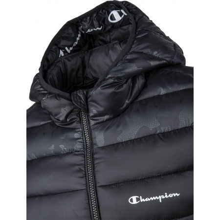 Kurtka męska - Champion HOODED JACKET - 4
