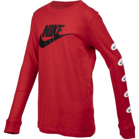 Chlapčenské  tričko s dlhým rukávom - Nike NSW TEE LS FUTURA B - 2