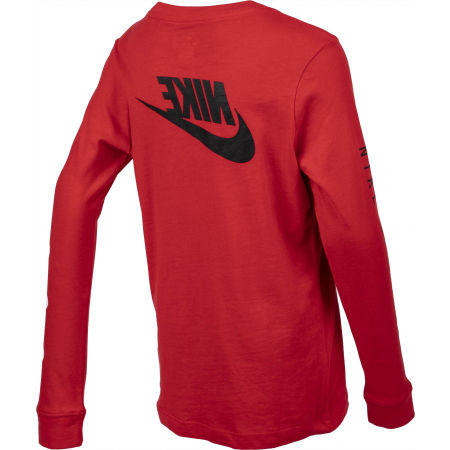 Chlapčenské  tričko s dlhým rukávom - Nike NSW TEE LS FUTURA B - 3