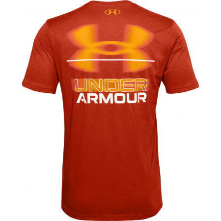 Pánské triko - Under Armour BLURRY LOGO WORDMARK SS - 2