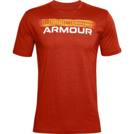 Under Armour BLURRY LOGO WORDMARK SS - Men's T-Shirt