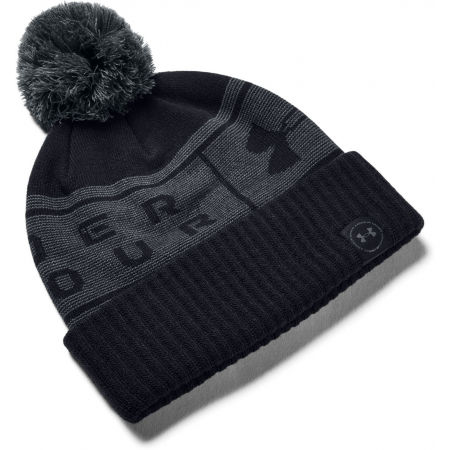 Under Armour BIG LOGO POM BEANIE - Unisex Strickmütze