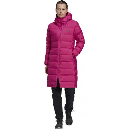 Dámský kabát - adidas W HELIONIC PARKA - 4