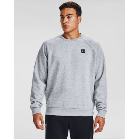Pánska mikina - Under Armour RIVAL FLEECE CREW - 3