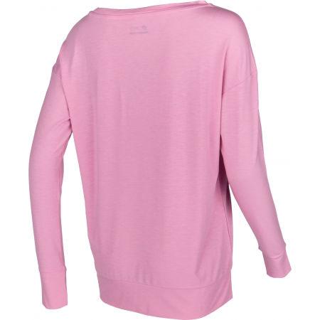 Dámské tričko s dlouhým rukávem - Lotto DINAMICO W III TEE LS PRT1 VI - 3