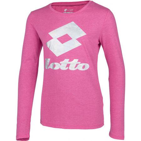 Блузата за момичета - Lotto SMART G TEE LS JS - 2