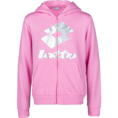 Lotto SMART G SWEAT HD FL - Hanorac fete