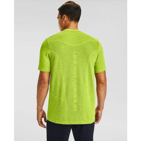 Men's T-Shirt - Under Armour SEAMLESS LOGO SS - 4