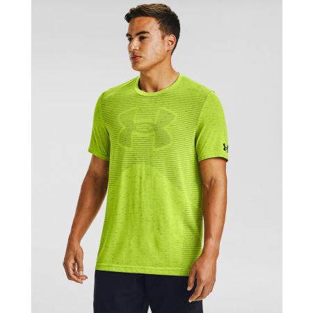 Men's T-Shirt - Under Armour SEAMLESS LOGO SS - 3
