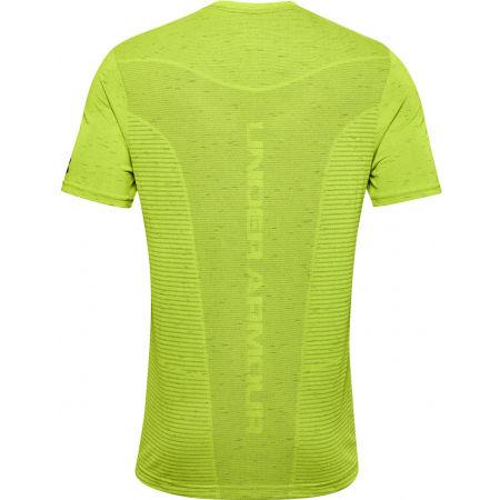 Men's T-Shirt - Under Armour SEAMLESS LOGO SS - 2