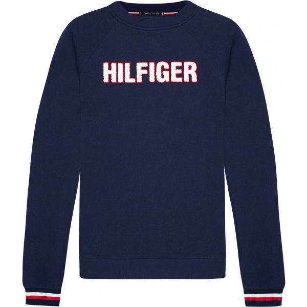 Tommy Hilfiger TRACK TOP LS HWK - Pánsky pulóver