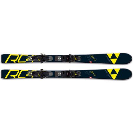 Juniorské zjazdové lyže - Fischer RC4 RACE JR. + FJ4 SLR - 4