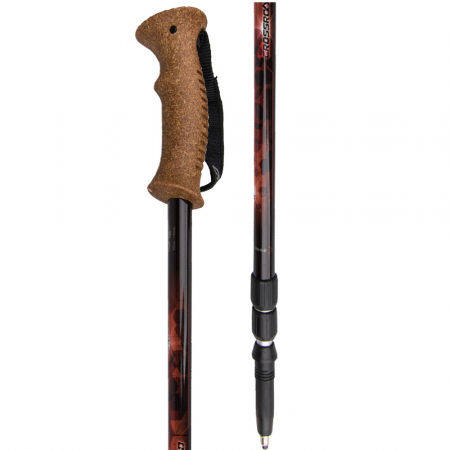 Crossroad VIPER-U8E - Three-part trekking poles