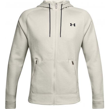 Under Armour CHARGED COTTON FLC FZ HD - Мъжки суитшърт