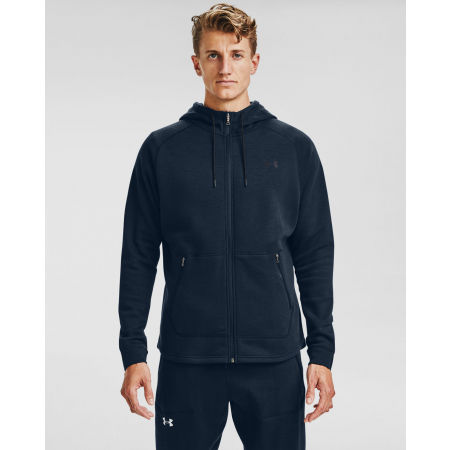 Мъжки суитшърт - Under Armour CHARGED COTTON FLC FZ HD - 3