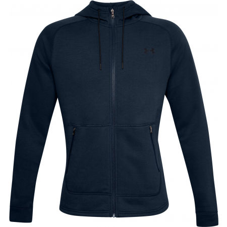 Мъжки суитшърт - Under Armour CHARGED COTTON FLC FZ HD - 1