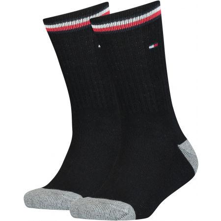 Tommy Hilfiger KIDS ICONIC SPORTS SOCK 2P - Dětské ponožky