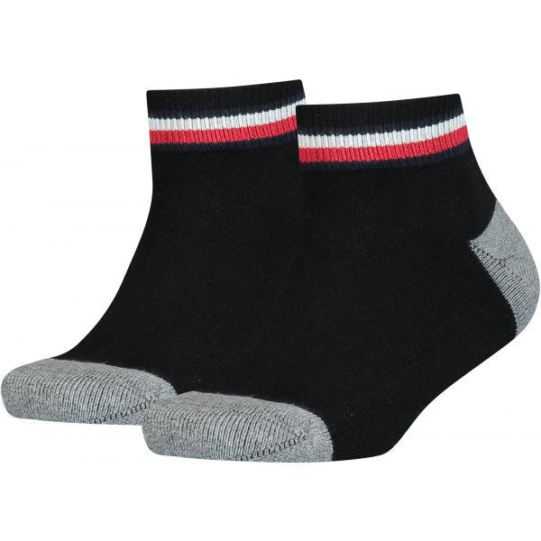 Tommy Hilfiger KIDS ICONIC SPORTS QUARTER 2P  35 - 38 - Dětské ponožky