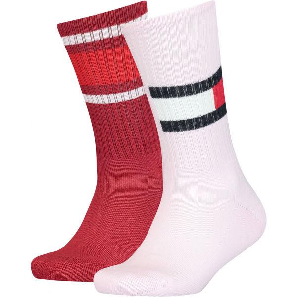 Tommy Hilfiger KIDS FLAG 2P  35 - 38 - Dětské ponožky