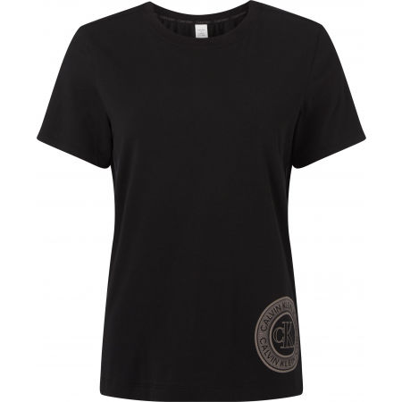 Calvin Klein S/S CREW NECK - Koszulka damska