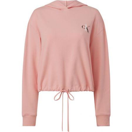 Calvin Klein L/S HOODIE - Bluza damska