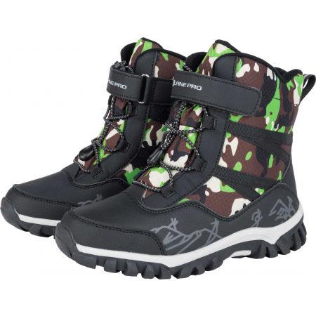 Dětská zimní obuv - ALPINE PRO MIRELO - 2
