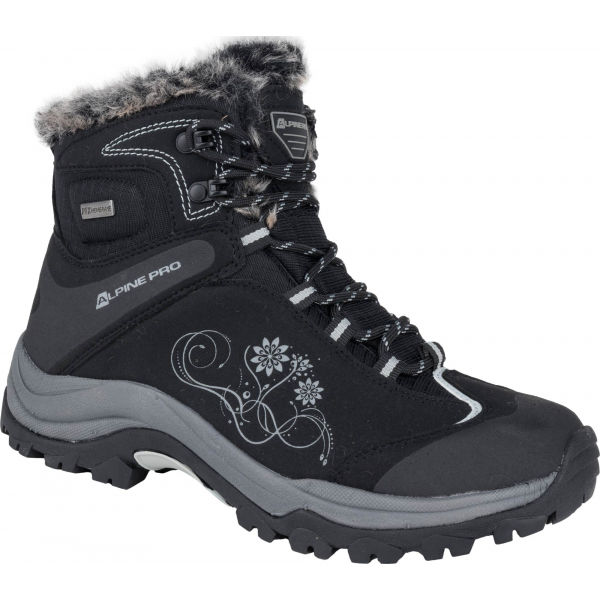 ALPINE PRO BANOFFE - Dámske zimné topánky