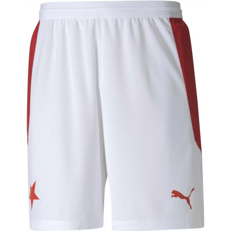 Puma SK SLAVIA HOME SHORTS PROMO - Men's football shorts