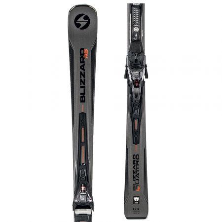 Sjezdové lyže - Blizzard QUATTRO RS + XCELL14 DEMO - 1