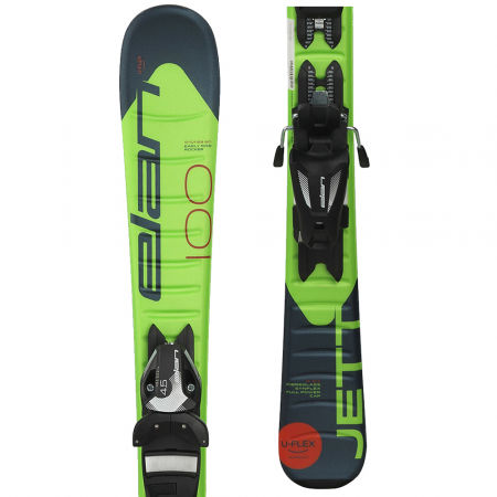 Elan JETT QS + EL 7.5 - Boys' downhill skis
