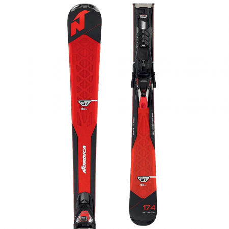 Nordica GT 80 TI FDT + TPX 12 - Downhill skis