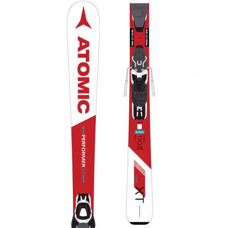 Atomic PERFORMER XT FIBRE + E LITH 10 AW - Zjazdové lyže