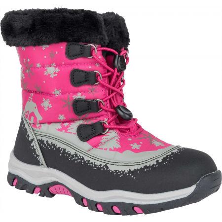 ALPINE PRO TREJO - Детски зимни обувки