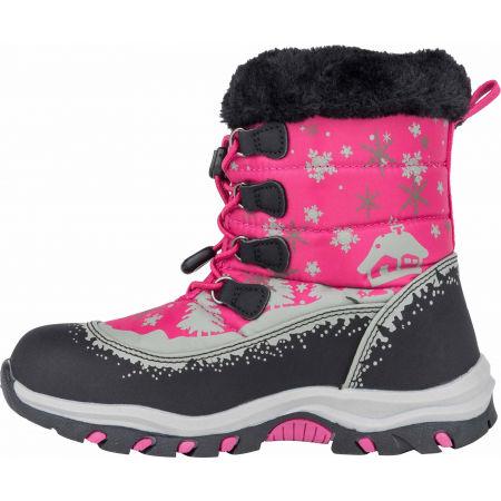 Detská zimná obuv - ALPINE PRO TREJO - 4