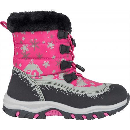 Detská zimná obuv - ALPINE PRO TREJO - 3