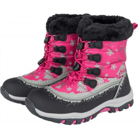 Detská zimná obuv - ALPINE PRO TREJO - 2