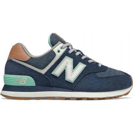 New Balance WL574BCM - Women's leisure shoes