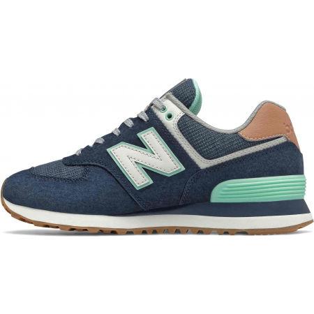 Дамски обувки за свободно носене - New Balance WL574BCM - 2