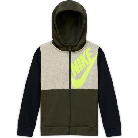 Nike NSW HOODIE FZ KIDS PACK B - Chlapčenská mikina