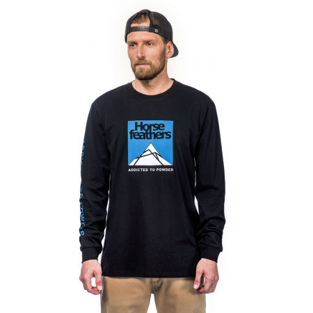 Horsefeathers LEX LS T-SHIRT - Men's long sleeve T-shirt