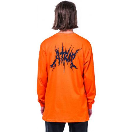 Pánske tričko s dlhým rukávom - Horsefeathers ELVIN ATRIP T-SHIRT - 2