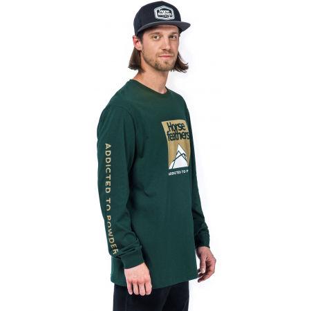 Pánske tričko s dlhým rukávom - Horsefeathers LEX LS T-SHIRT - 2