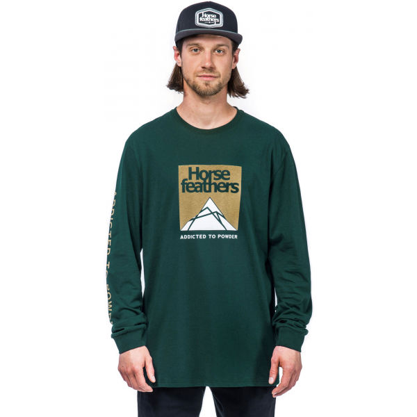 Horsefeathers LEX LS T-SHIRT - Pánske tričko s dlhým rukávom