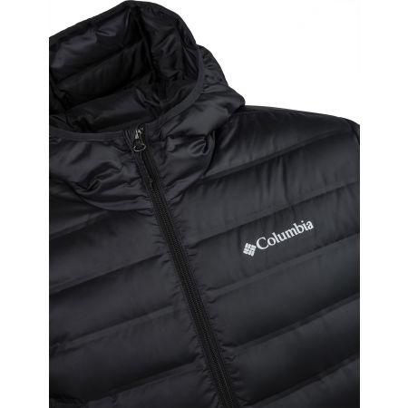 Pánská zimní bunda - Columbia LAKE 22 DOWN HOODED JACKET - 4