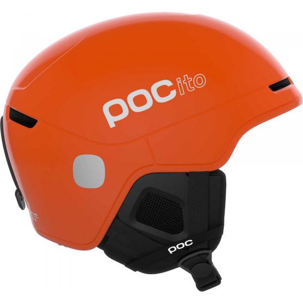 E-shop POC POCito OBEX SPIN oranžová (55 - 59) - Dětská lyžařská helma