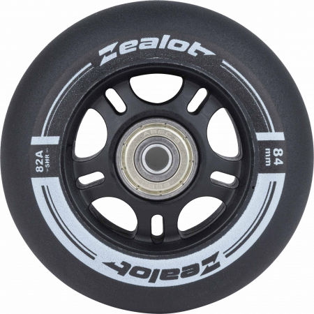 Zealot 84-82A WHEELS + BEARINGS 4PCS - Set of in-line wheels with bearings