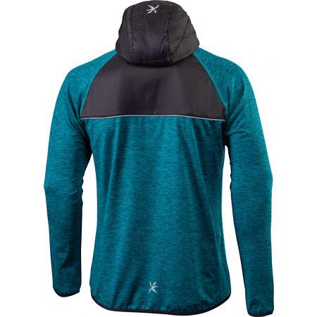 Men's running hoodie - Klimatex PERCY - 2