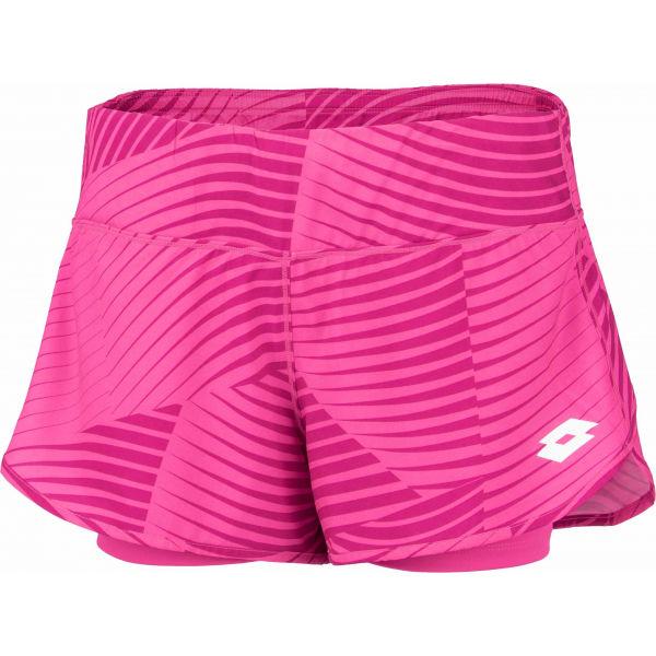 Lotto TOP TEN W II SHORT PRT PL - Dámske tenisové šortky